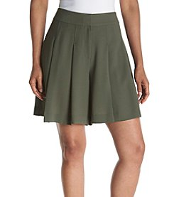 Nine West® Loden Crepe Shorts