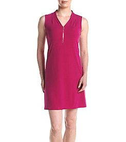 Ivanka Trump® Zip Neckline Shift Dress