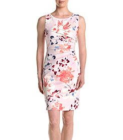 Ivanka Trump® Floral Starburst Scuba Dress