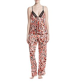 Jones New York® Animal Print Pajama Set