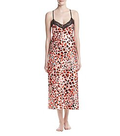 Jones New York® Coral Animal Chemise Gown
