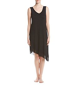 Jones New York® Mesh Asymmetrical Hem Chemise