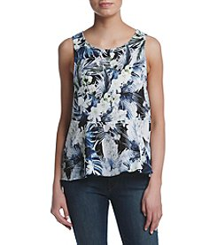 Kensie® Tropical Blues Tank
