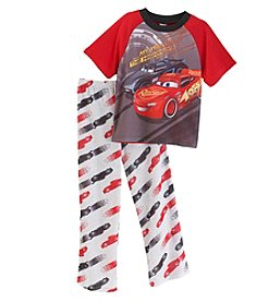 Cars Boys' 4-8 My Way Or The Highway Two Piece Pajama Set