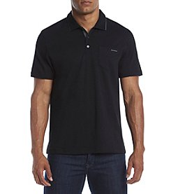 Calvin Klein Men's Short Sleeve Interlock Shirt