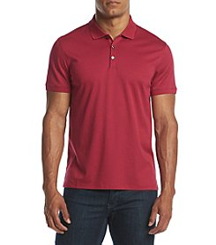 Calvin Klein Men's Short Sleeve Feeder Stripe Polo Shirt