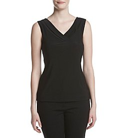 Tahari ASL® Pleated Tank