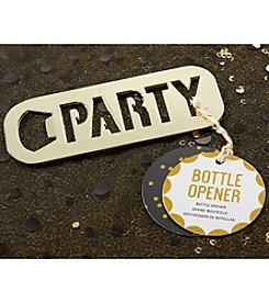 Kate Aspen Gold Party Set of 12 Bottle Openers