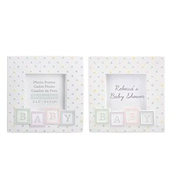 Kate Aspen Set of 12 Baby Blocks Frames