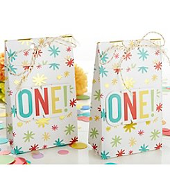 Kate Aspen Set of 24 1st Birthday Tall Treat Boxes