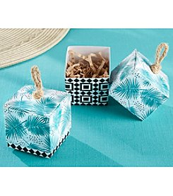 Kate Aspen Set of 24 Tropical Chic Palms Favor Boxes