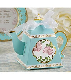 Kate Aspen Set of 24 Tea Time Whimsy Teapot Favor Boxes