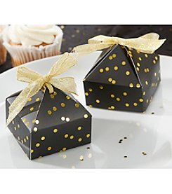 Kate Aspen Set of 24 Pyramid-Shaped Favor Boxes