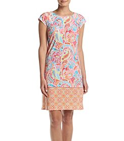 Madison Leigh® Cap Sleeve Shift Dress