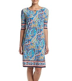 Madison Leigh® Paisley Print Dress