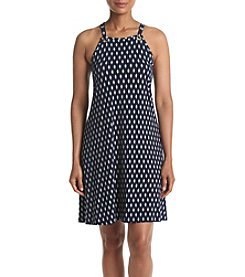 Ivanka Trump® Printed Halter Neckline Dress