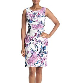 Ivanka Trump® Floral Printed Starburst Dress