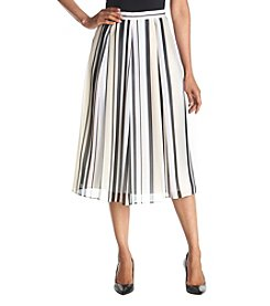 Anne Klein® Striped Skirt