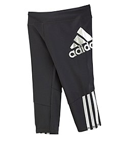 adidas® Girls' 2T-6X Super Star Tights
