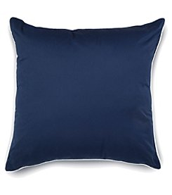 IZOD Classic Stripe European Square Decorative Pillow