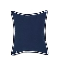 IZOD Varsity Stripe Grosgrain Decorative Pillow
