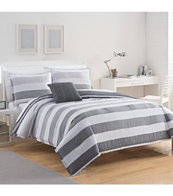 IZOD Brandon Stripe Comforter Set