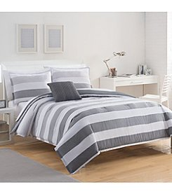 IZOD® Brandon Stripe Comforter Set
