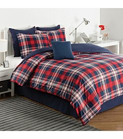 IZOD Plaid Comforter Set