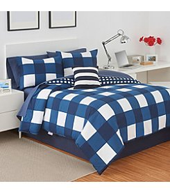 IZOD® Plaid Comforter Set