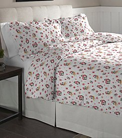 Pointehaven Penguin Cotton Flannel Duvet Set