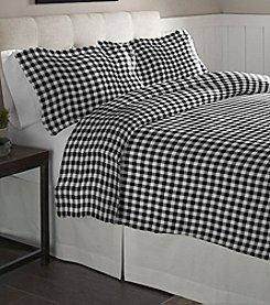 Pointehaven Milton Cotton Flannel Duvet Set