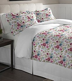 Pointehaven Sylvan Cotton Flannel Duvet Set