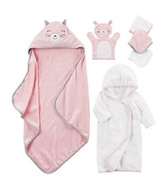 Carter's Little Baby Basics - Pink Bunny Bath Collection