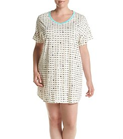 HUE® Plus Size Lashes Sleepshirt