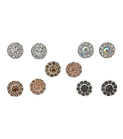 Studio Works® Five Pair Stud Earring Set