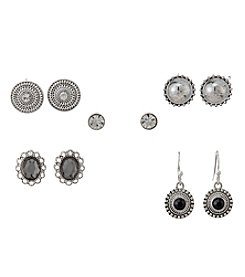 Studio Works® 5 Pair Earrings Set