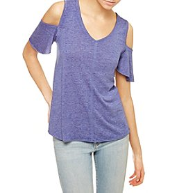 Sanctuary® Cold-Shoulder Tee