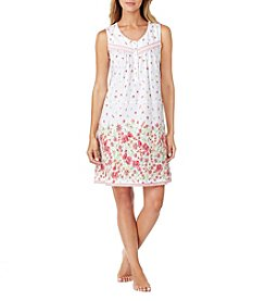Aria® Floral Border Nightgown