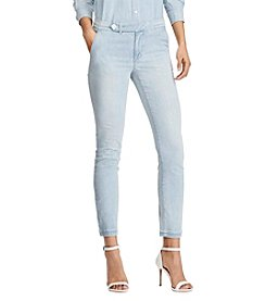 Lauren Ralph Lauren® Denim Straight Pants