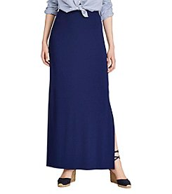 Lauren Ralph Lauren® Stretch Interlock Maxi Skirt