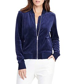 Lauren Ralph Lauren® Bomber Jacket Sweater