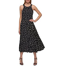 Tommy Hilfiger® Dot Print Maxi Dress