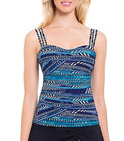 Profile by Gottex® Printed Tankini Top