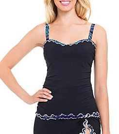 Profile by Gottex® Print Trim Tankini Top