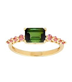 10K Yellow Gold Tourmaline Ring