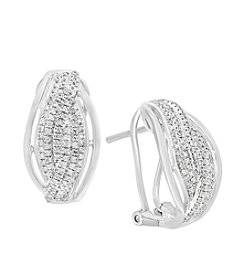 Effy® 925 Collection .44 ct. t.w. Diamond Sterling Silver Earrings
