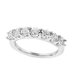 Effy® 14K White Gold .58 ct. t.w. Diamond Ring
