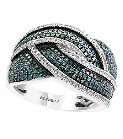 Effy® 925 Collection .64 ct. t.w. Diamond Sterling Silver Ring