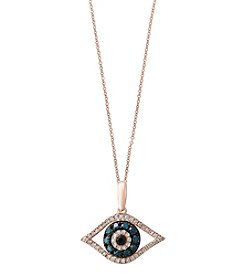 Effy® 14K Rose Gold 0.34 ct. t.w. Diamond Pendant