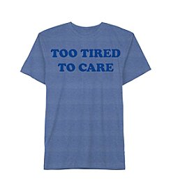 Jem® Men's Too Tired To Care Graphic Tee
